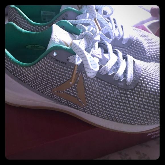 Awesome Reebok Nano 7 Crossfit Shoes Irish Edition.  M 5b8aff6e74359b23cb208ca4 b8c4dac4e